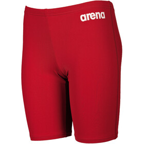arena Solid Jammer-uimahousut Pojat, red/white